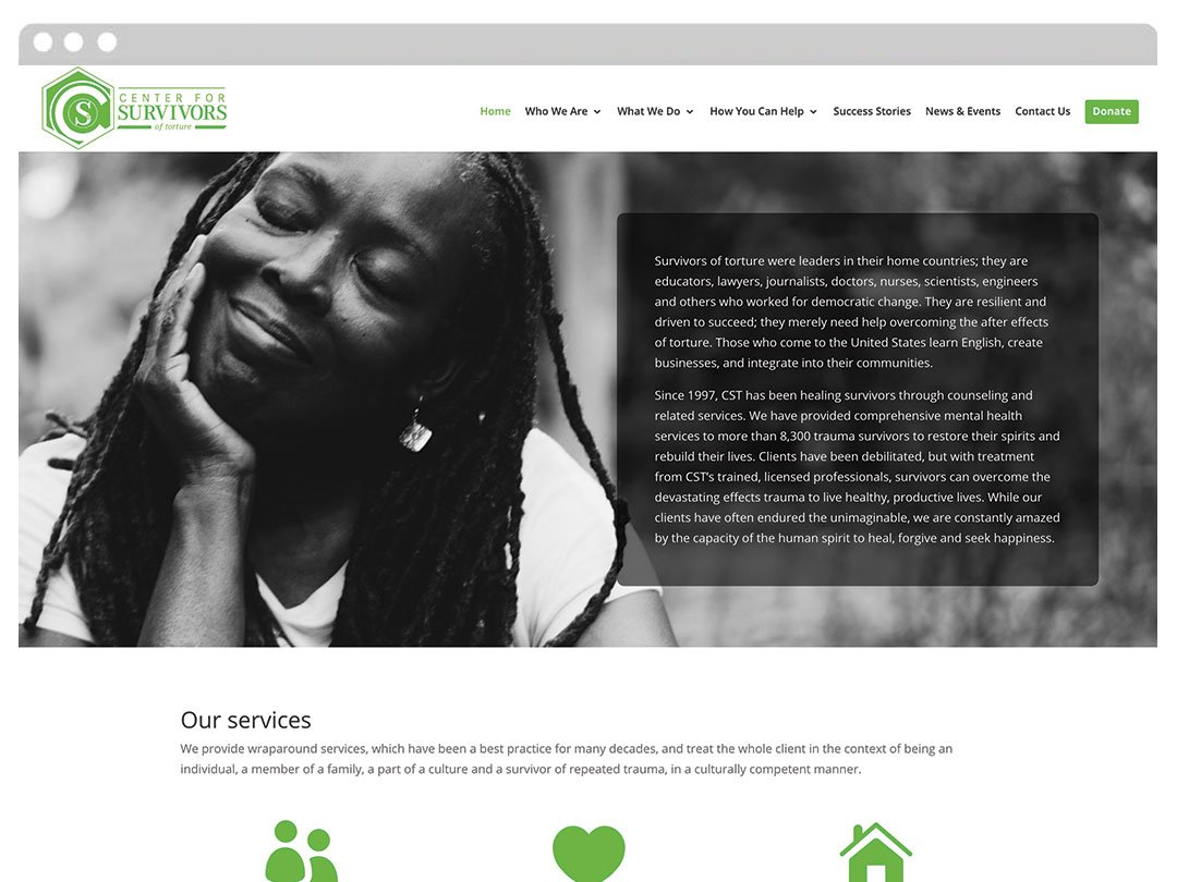 Nonprofit WordPress Website